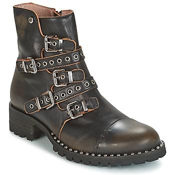 Schuhe Damen Boots Dkode UMBRIA-BLACK-001 Schwarz