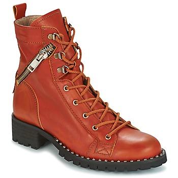 Schuhe Damen Boots Dkode UDELE-OCRE-008 Ocker