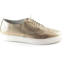 Schuhe Damen Richelieu Grunland GRÜNLAND PUNT beige Schuhe SC3300 Platinum Blonde Zehe Schnürsen Beige