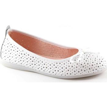Schuhe Kinder Ballerinas Gioseppo GUILLEM 39614 weiß Ballerina Mädchen Schuhe Bianco