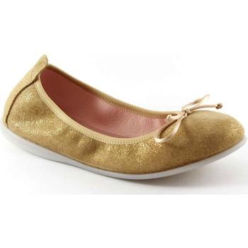 Schuhe Kinder Ballerinas Gioseppo MARKOVA 39616 Goldballettschuhe Mädchenschuhe Oro