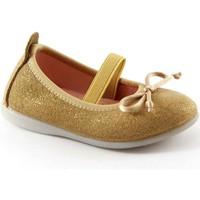 Schuhe Kinder Ballerinas Gioseppo SYLVIE 39613 goldene Schuhe elastischen Baby Ballerinen Oro