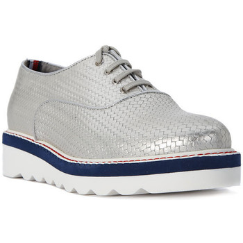 Schuhe Damen Slipper Tommy Hilfiger PELLE SILVER    121,6