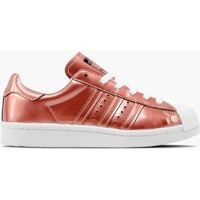 Schuhe Damen Sneaker Low adidas Originals ZAPATILLAS  SUPERSTAR BOOST Gold
