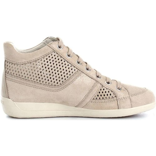 Geox D7268B7722 Sneaker Frau Taupe Taupe