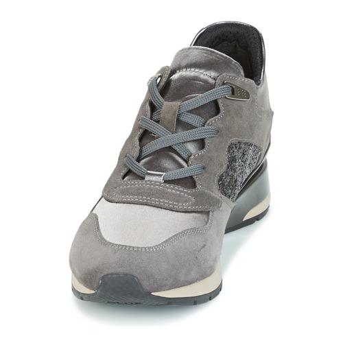 Geox D SHAHIRA Grau  Schuhe Sneaker Low Damen 95,20