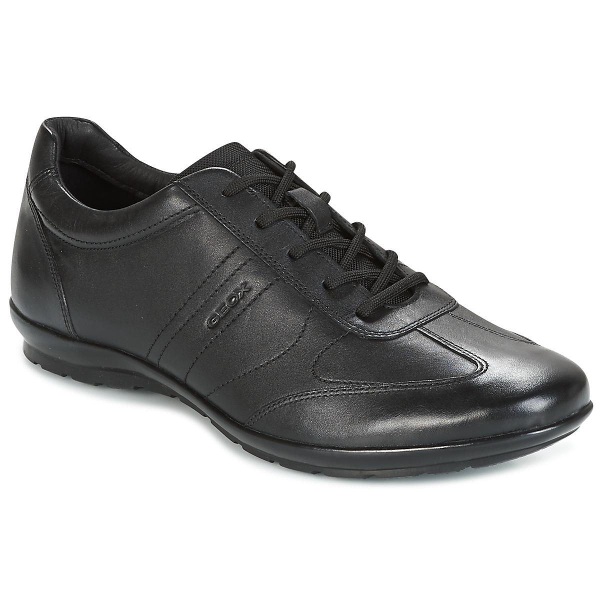 Geox UOMO SYMBOL Schwarz - Kostenloser Versand bei Spartoode ! - Schuhe Sneaker Low Herren 79,99 €