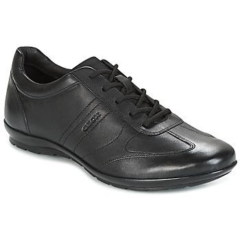 Schuhe Herren Sneaker Low Geox UOMO SYMBOL Schwarz