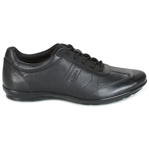 Geox UOMO SYMBOL Schwarz  Schuhe Sneaker Low Herren 99,99