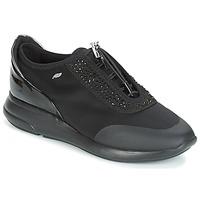 Schuhe Damen Sneaker Low Geox D OPHIRA Schwarz
