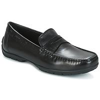 Schuhe Herren Slipper Geox U MONET W 2FIT Schwarz