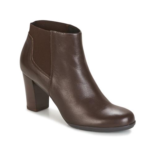Geox D ANNYA Braun  Schuhe Low Boots Damen