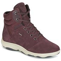 Schuhe Damen Sneaker High Geox D NEBULA 4 X 4 B ABX Bordeaux