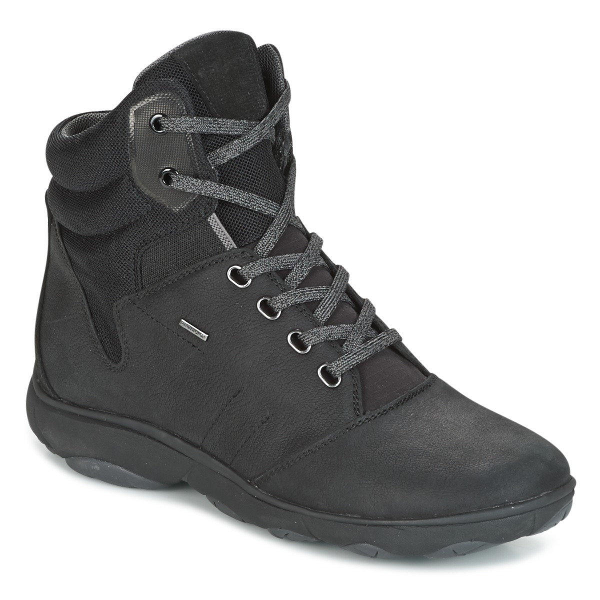 Geox D NEBULA 4 X 4 B ABX Schwarz - Kostenloser Versand bei Spartoode ! - Schuhe Sneaker High Damen 119,20 €
