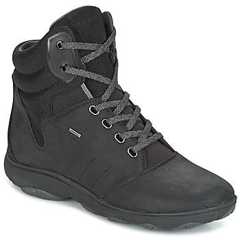 Schuhe Damen Sneaker High Geox D NEBULA 4 X 4 B ABX Schwarz