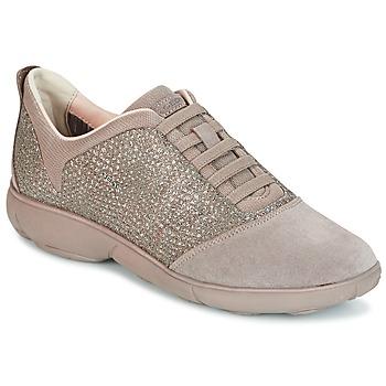Schuhe Damen Sneaker Low Geox D NEBULA Maulwurf