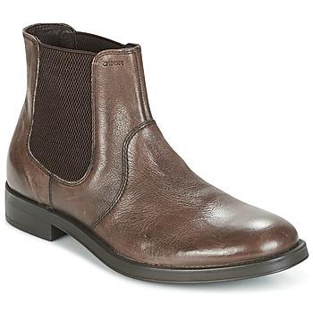Schuhe Herren Boots Geox UOMO BLADE Braun