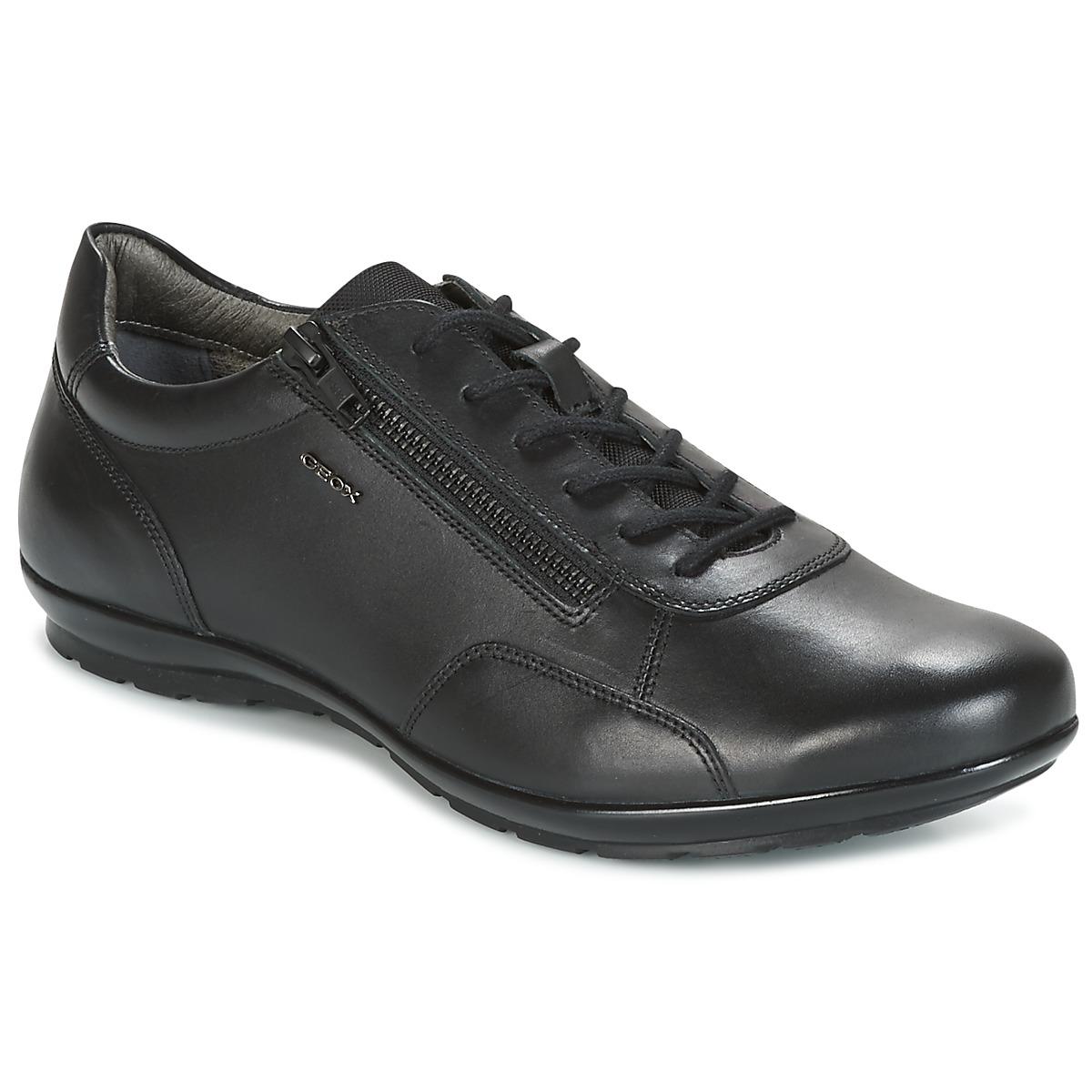 Geox UOMO SYMBOL Schwarz - Kostenloser Versand bei Spartoode ! - Schuhe Sneaker Low Herren 99,99 €