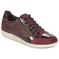 Schuhe Damen Sneaker Low Geox D MYRIA Bordeaux