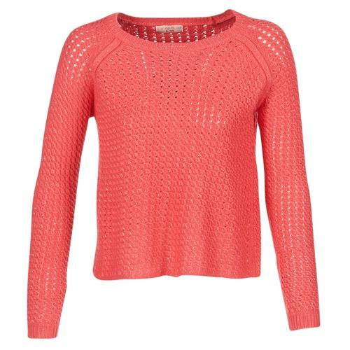Kleidung Damen Pullover Moony Mood GAROL Korallenrot