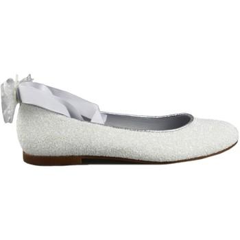Schuhe Mädchen Ballerinas Oca Loca OCA LOCA COMUNION CINTAS WHITE