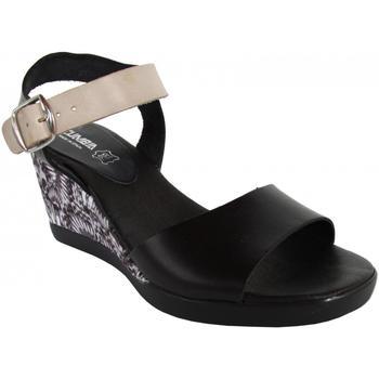 Schuhe Damen Sandalen / Sandaletten Cumbia 30151 Negro
