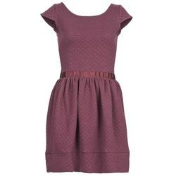 Kleidung Damen Kurze Kleider Naf Naf OHORTENSE Violett