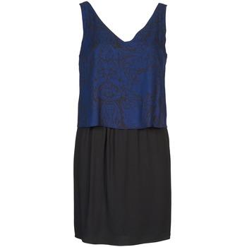 Kleidung Damen Kurze Kleider Naf Naf LORRICE Schwarz / Blau