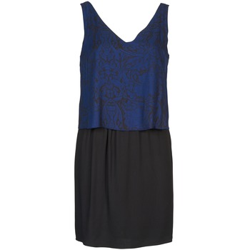 Kleider Naf Naf LORRICE Schwarz / Blau 350x350
