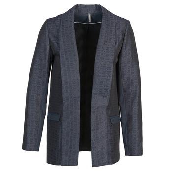 Kleidung Damen Jacken / Blazers Naf Naf ELYO Marine