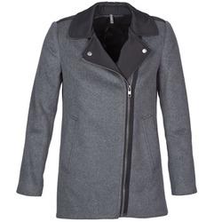 Kleidung Damen Mäntel Naf Naf ARNO Grau / Schwarz