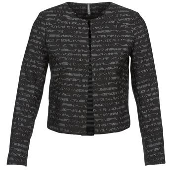 Kleidung Damen Jacken / Blazers Naf Naf LYMINIE Grau / Schwarz