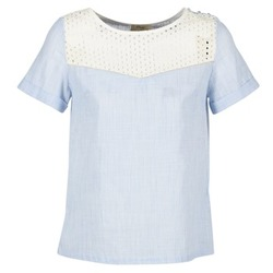 Kleidung Damen Tops / Blusen Betty London GERMA Weiss / Blau