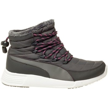 Schuhe Damen Sneaker High Puma ST Winter Boot Wmns Grau-Weiß
