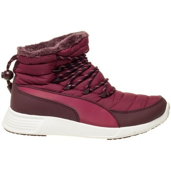 Schuhe Damen Sneaker High Puma ST Winter Boot Wmns Weiß-Violett