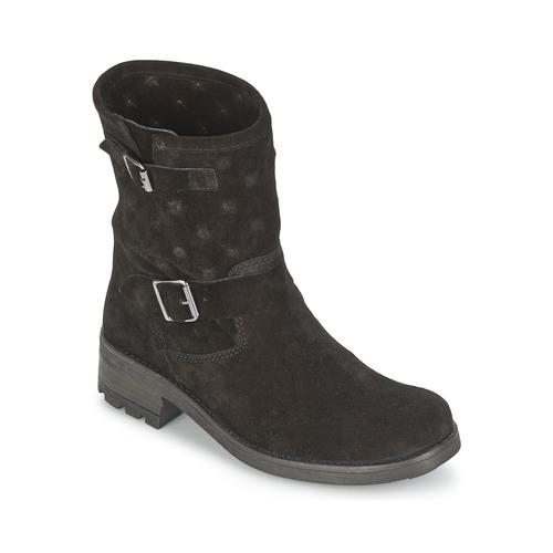 Schuhe Damen Boots Naf Naf XHNX70A18 Schwarz
