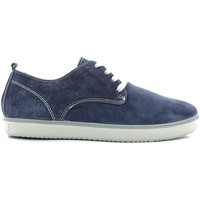 Schuhe Herren Sneaker Low Igi&co 7722 Shoes with laces Man Blue