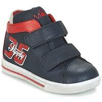 Schuhe Jungen Sneaker High Mod'8 STARIUS Marine / Rot