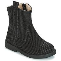 Schuhe Mädchen Klassische Stiefel Mod'8 ZOULIA Schwarz