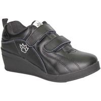Schuhe Damen Indoorschuhe Kelme  Sportschuhe mit Klettverschluss Keil K Schwarz