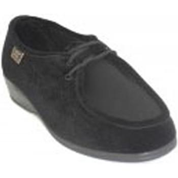 Schuhe Damen Derby-Schuhe Doctor Cutillas  Schnürsenkel Füße sehr empfindlich Win Schwarz