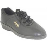 Schuhe Damen Indoorschuhe Alfonso  Sportschuhe sehr bequem Keil  s Schwarz