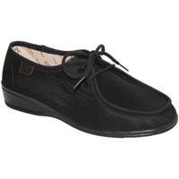 Schuhe Damen Derby-Schuhe Doctor Cutillas  Schnürsenkel Füße sehr zart Sommer Doc Schwarz