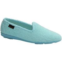 Schuhe Damen Hausschuhe Made In Spain 1940  Geschlossener Schuh Handtuch Alberola Beige