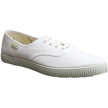 Schuhe Sneaker Low Muro  Canvas Sneakers  weiß Weiss