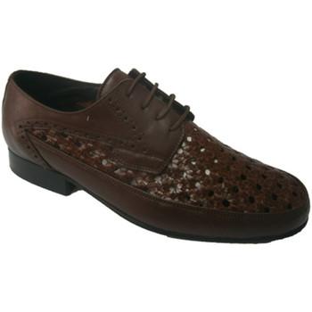 Schuhe Herren Derby-Schuhe 30´s  Schuhregal mit cordon  braun Braun