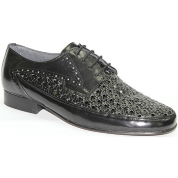 Schuhe Herren Slipper 30´s  Schuhregal mit cordon  schwarz Schwarz