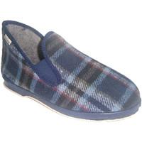Schuhe Herren Hausschuhe Muro  Absatzschuh  blau Blau