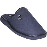 Schuhe Herren Hausschuhe Andinas  Ritter geschlossene Zehe Hausschuhe An Blau