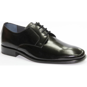 Schuhe Herren Derby-Schuhe Made In Spain 1940  Ich kleide mich Schnürsenkel glätten G Schwarz